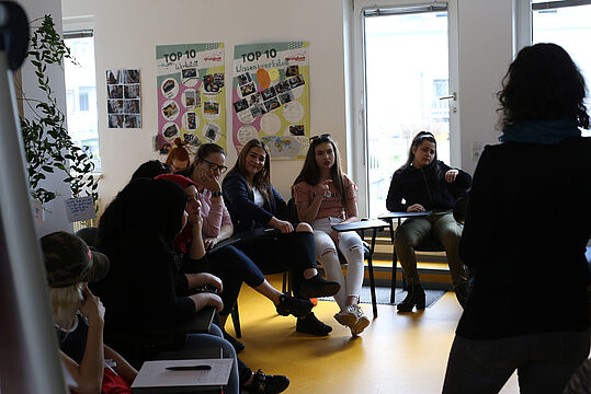 Workshop bei spacelab_girls*