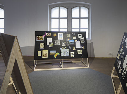 Exhibition view, installation by Katrin Hornek, © Wolfgang Thaler