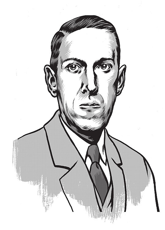 H.P. Lovecraft (c) Erik Kriek